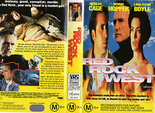 RED ROCK WEST - Cage, Hopper and Boyle - VHS - NEW! - PAL - Original Oz release!