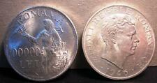 ROMANIA Mihai I 100.000 Lei AG 1946 XF