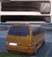 FOR VW T4 barn two doors REAR DOOR Spoiler lower LIP Sport van sport