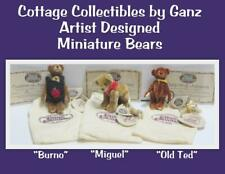 Ganz Cottage Collectibles Miniature Bears Bruno Miguel Old Ted