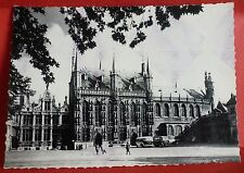 BRUGGE Postcard The Justice de Paix Town Hall Basilia of the Holy Blood by Ern.