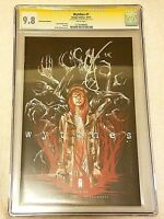 Wytches  #1 NYCC Convention Variant CGC 9.8 NM/MT SS Signed by Snyder 2014