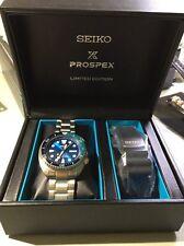 Seiko Prospex BLUE LAGOON AutO Divers 200M SRPB11K SRPB11 EXTRA RUBBER BAND
