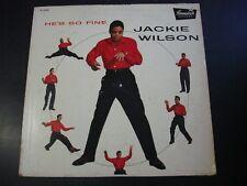 JACKIE WILSON HE'S SO FINE LP RECORD ORIGINAL DG HYLIT ORIGINAL PROMO