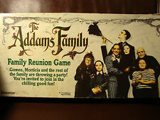 The Addams Family Family Reunion Game 1991 By Pressman Toy Corp