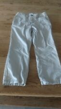 Old Navy toddler boy size 4T solid khaki skinny adjustable waist pants