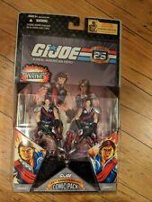 G.I. JOE 25TH ANNIVERSARY COMIC PACKS TOMAX & XAMOT - RETIRED