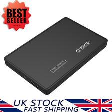 "ORICO 2.5"" Inch USB 3.0 SATA External Hard Drive HDD/SSD Enclosure/Caddy Case BK"