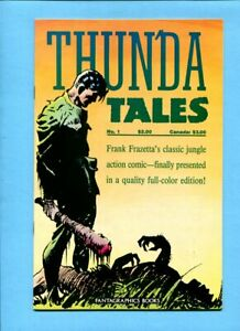 Frank Frazetta's Thun'da Tales #1 Fantagrphics Books 1987 Thunda Reprints