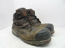 """Timberland PRO Men's 6"""" Boondock EH Comp Toe Insulated Boot 92641 Brown 12M"""