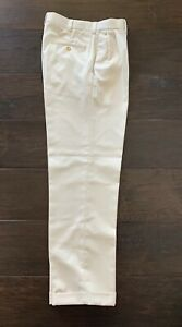 Mens CALLAWAY GOLF DRESS PANTS Classic Textured Pleated High Waist Rise Trousers