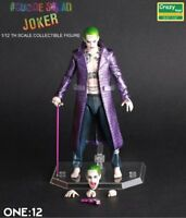 Crazy Toys Suicide Squad Joker 1/12 Scale Collectible Figur Statue Figuren OVP