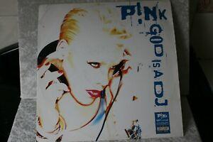 """Pink - God Is A DJ - 12"""" Vinyl Single"""