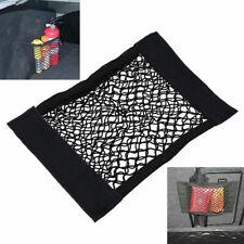 Car Trunk Interior Organizer Bag Mesh Cargo Net Rear Seat Storag Black Universal