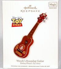 2012 Hallmark Keepsake Disney Pixar Toy Story Woody Roundup Guitar Xmas NO SOUND