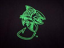Saltwater Savages black graphic fish XL t shirt