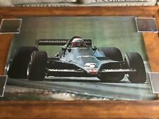 Original Mario Andretti Formula 1 Poster Paul Oxman