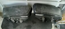 Genuine 97-08 Harley Touring Road King Classic Leather Saddlebags OEM saddle bag