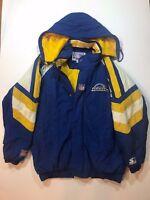 Vintage St. Louis / Los Angeles LA Rams NFL Football Starter Jacket Medium
