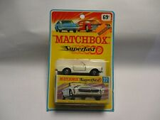 Matchbox Lesney Superfast SF27 Mercedes- CREAM, mint with Blistercard and box