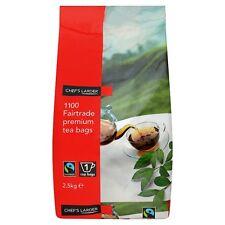 2 x 1100 Fairtrade Premium Tea Bags 2.5kg - Catering, Bulk, Expat, British Food