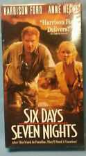 FACTORY SEALED! Six Days, Seven Nights (VHS) Harrison Ford. Anne Heche.