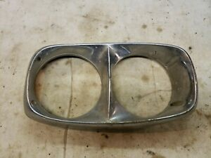1966 Ford Galaxie LTD Country Squire Custom Ranch Wagon Headlight Bezel 66125