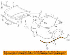 53630-30250 Toyota Cable assy, hood lock control 5363030250, New Genuine OEM Par