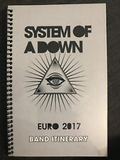 System Of A Down ( Euro 2017 Band Itinerary )