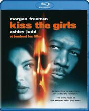 Blu Ray KISS THE GIRLS. Morgan Freeman. Region free. New sealed.