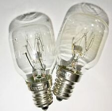 2-pack Himalayan Salt Lamp Bulbs 25 Watt 120 volt 25W bulb 2-25W