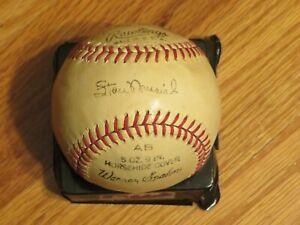 Vintage 60s Rawlings MICKEY MANTLE STAN MUSIAL DUKE SNIDER WARREN SPAHN Baseball