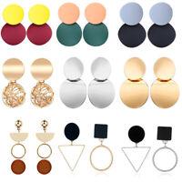 Vintage Bohemian Metal Dangle Earrings For Women Geometric Wedding Earring Gifts