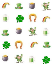 St (Patty's) Patrick's Day Sampler  Waterslide Nail Decals/Nail art