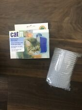 CatIt Self Groomer, Groomer Brush, Cat Face Scratcher, Opaque White Color