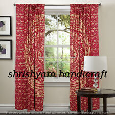 Indian Ombre Mandala Tapestry Decorative Window Hanging Door Hangings Curtains
