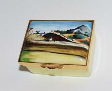 "Halcyon Days ""Paul Cezanne"" Mont Sainte Victoire Trinket Box- Lim Ed 13/100-Mib"