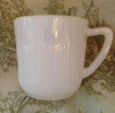 VTG milk glass tea cup miniature