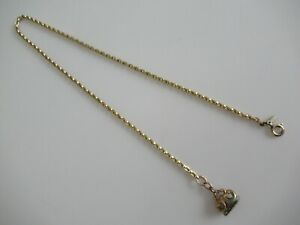 VINTAGE GOLD FILLED WATCH CHAIN & FOB