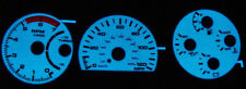 1991 1992 1993 GMC Typhoon / Syclone Blue Glow Gauge Face Overlay New