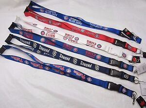 "MLB Lanyard Detachable Buckle 23"" Long 3/4"" Wide by Aminco -Select- Team Below"