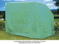 telo di copertura dondoli cm 215x153x145h chiusura zip copertura coprire