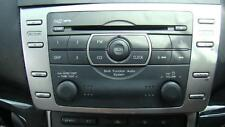 MAZDA 6 RADIO/CD/ PLAYER FACTORY 6 DISC IN DASH STACKER, GH, 02/08-11/12