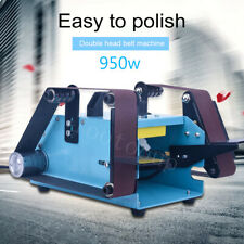 950W 110-230V Double Axis Belt Sander Variable Speed Grinding Machine B9Q8