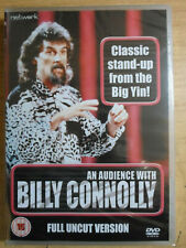 AN AUDIENCE WITH BILLY CONNOLLY full uncut version. New Sealed DVD.