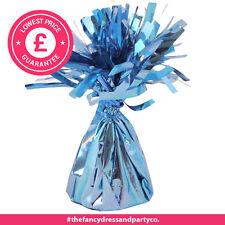 10 x Baby Blue Palloncino Rivestito Tavolo Pesi NUOVO decorazione feste