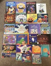 Lot of 23 HALLOWEEN Children's Picture Books SCHOLASTIC Teacher Class Homeschool