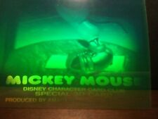 Mickey Mouse on Vacation - Polaroid Holograms 4-card Set in Snap-It Holders