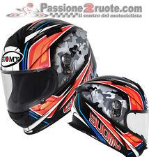 helmet Suomy SR sport Mimetischen Casque Motorrad Integral helm Größe xl
