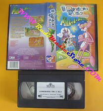 VHS film LA PANTERA ROSA CARTOON COLLECTION Pink-a-rella 2001 MGM (F142) no dvd